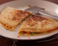Vegetarian  Mexican Quesadilla Recipe
