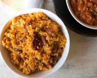 Vegetarian Smoked Mexican Bean Rice Recipe