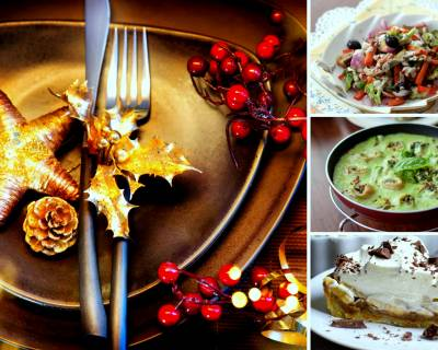 4-Course Menu For An Elegant Christmas Party