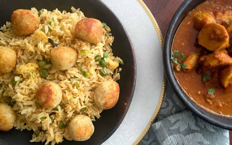 Archanas kitchen simple recipes cooking ideas motiya chilman pulao recipe forumfinder Images