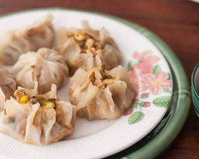 Cantonese Style Dimsums Recipe-Sweet Corn & Tofu Steamed Dumpling