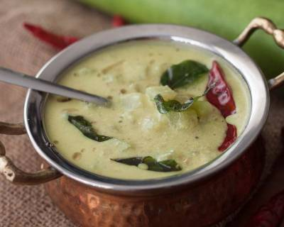 Sorekai Majjige Huli Recipe (Bottle Gourd In Coconut Yogurt Curry Recipe)