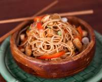 Sichuan Dan-Dan Noodles Recipe (Sesame Noodles With Crispy Tofu Recipe)