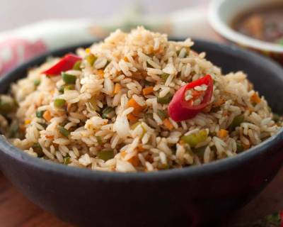 Szechuan Vegetarian Fried Rice
