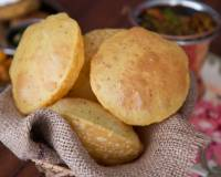 Ajwain Puri Recipe - Puri Flavoured With Carom Seeds