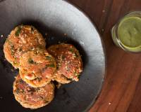 Makhana Aloo Tikki Recipe (Spiced Lotus Seed Patties Recipe)