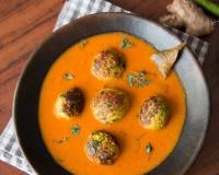 No Onion No Garlic Lauki Paneer Kofta Curry Recipe