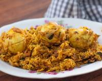 Spicy Egg Biryani Recipe with Figaro Olive Oil