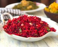 Beetroot, Carrot & Cucumber Salad with Peanuts Recipe