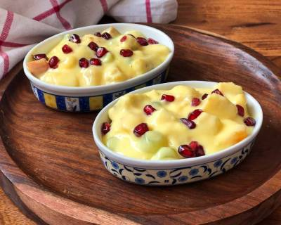 Creamy and Delicious Fruit Custard Recipe