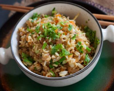 Chilli Coriander Fried Rice Recipe