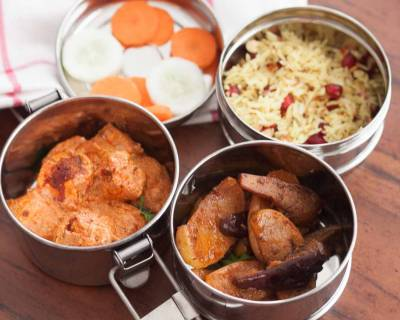 Plan Your Lunch Box Meal with Kashmir Paneer Masala, Modur Pulao and More