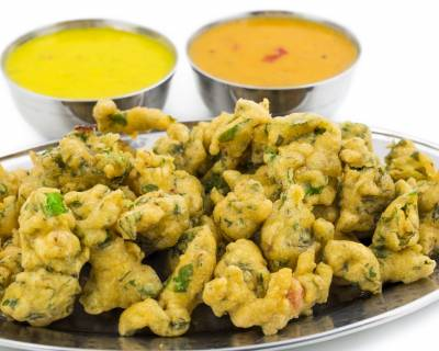 Sprouted Moong Bade Recipe -Moong Sprout Fritters Recipe