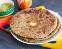 Nutty Aloo Paratha Recipe