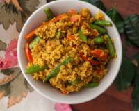 Thai Yellow Coconut Curry Rice Recipe