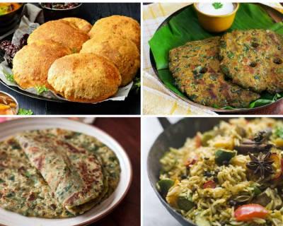 Weekly Meal Plan:Methi Matar Pulao,Spinach & Tofu Paratha,Misal Pav & More