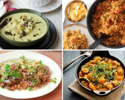 Weekly Meal Plan: Goan Kaju Curry, Gujarati Vadi Pulao, Beans On Toast & Chaat