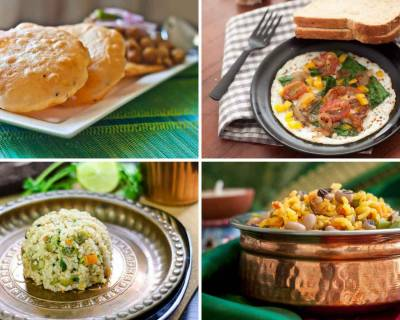 Weekly Meal Plan: Hyderabadi Biryani, Gatte Ki Sabji, Upma & Thai Curry