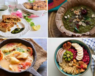 Weekly Meal Plan : Uttapam, Spinach Rice, Thai Vegetable Curry & Enchiladas