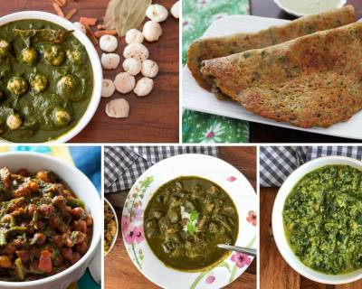 54 Indian Spinach Recipes & Keerai Recipes For Diabetes