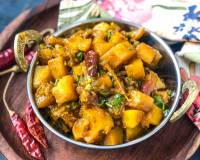 Achari Aloo Sabzi Recipe - Potatoes In Spicy Pickle Masala