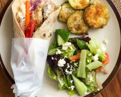 Enjoy A Weekend Dinner With Chicken Shawarma & A Summer Salad