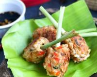 Vietnamese Lemongrass Shrimp Skewers Recipe