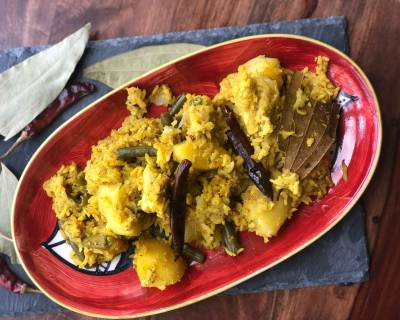 Bengali Bhog Khichuri Recipe - Bengali Khichdi Using Electric Pressure Cooker
