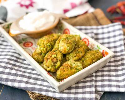Cheesy Garlic Broccoli Nuggets Recipe