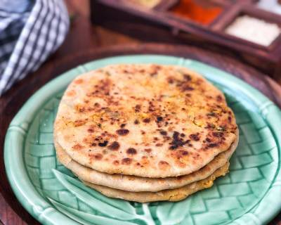 Chicken Keema Paratha Recipe - Minced Chicken Flat Bread
