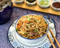 Chicken Yakisoba Recipe - Japanese Noodles
