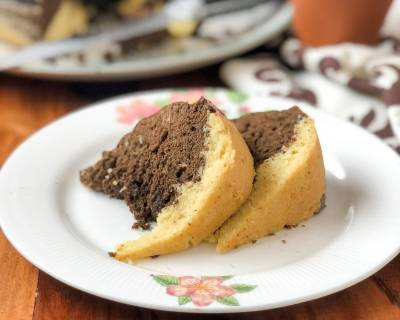 Chocolate Marble Cake Recipe Using Preethi Electric Pressure Cooker