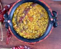 Dal Kabila Recipe - Diabetic Urad Dal Tadka