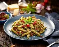 Pesto & Parmesan Penne Pasta Recipe