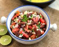 Mexican Style Fresh Rajma Bean & Raw Mango Salad Recipe