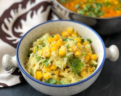 Sweet Corn And Raw Mango Salad Recipe