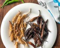 Mor Milagai Recipe - South Indian Sun Dried Chillies