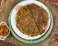 Multigrain Methi Thepla Recipe With Ragi & Whole Wheat