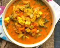 One Pot Mixed Vegetable Curry Recipe Using Preethi Electric Pressure Cooker