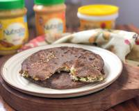 Paneer Stuffed Ragi Paratha Recipe - High Protein Breakfast