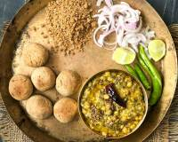Rajasthani Dal Bati Churma Recipe