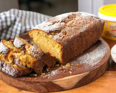 Spiced Whole Wheat Carrot Cake Recipe