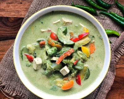 Vegetarian Thai Green Curry Recipe
