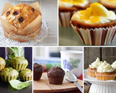 43 Cupcake Recipes Perfect For Evening Snack - Muffin Recipes | Tea Cakes