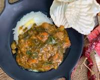 Thandu Keerai Sambar Recipe - Amaranth Greens Sambar Recipe