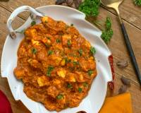 Cheesy Paneer Masala Curry Recipe