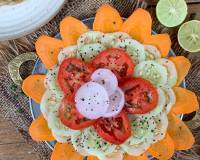 Classic Indian Sliced Salad Recipe