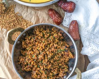 Methi Dana Sabzi Recipe - Healthy Fenugreek Seeds Stir Fry