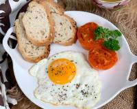 Fried Egg Recipe - Sunny Side Up