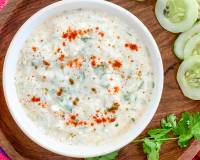 Grated Cucumber Raita Recipe